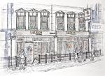 Albion Tavern, Blackfriars [ pencil, ink & wash - A4 size, Original available ]