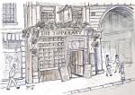 The Tipperary in Fleet Street -A [ pencil, ink & wash -A4 size, original available ]