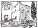 Kolossi Castle - Impression [ pencil, pen and ink with wash - A4 size, original available ]