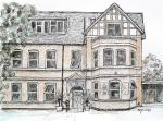 Rutland House Surgery [ pen and ink drawing - for the owner of the surgery ]