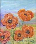 Poppies [ oil on canvas ]