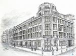 Old Northcliffe House,  [ Pencil, ink and wash on paper- Original available A3 size