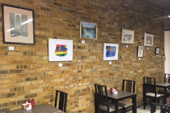 Partridges Cafe Exhibition